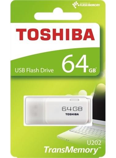 Toshiba 64Gb Usb Beyaz (Hayabusa) (Yeşil) Renkli
